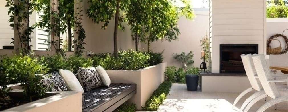 6 innovadores modelos de jardineras para la terraza - Jardineras para interiores ...