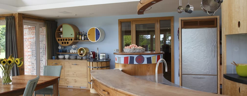 eclectic Kitchen by Johnny Grey