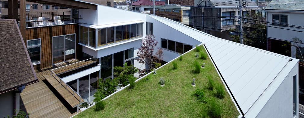 Maisons de style de style Moderne par 工藤宏仁建築設計事務所