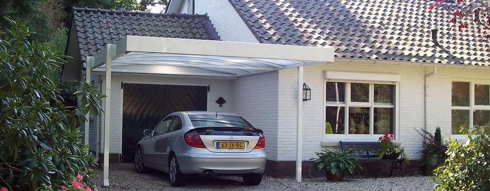 Nhà để xe/Nhà kho by Carport Harderwijk