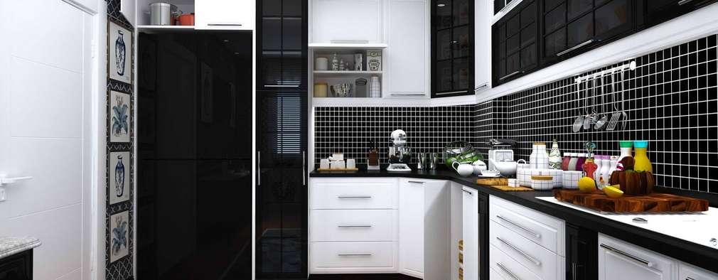 GN İÇ MİMARLIK OFİSİ – iç mimari tasarım mutfak:  tarz