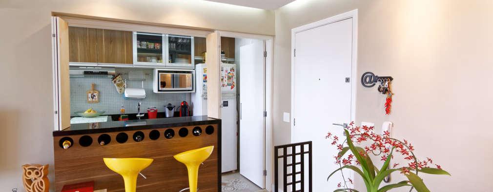 Comedores de estilo minimalista por Raphael Civille Arquitetura