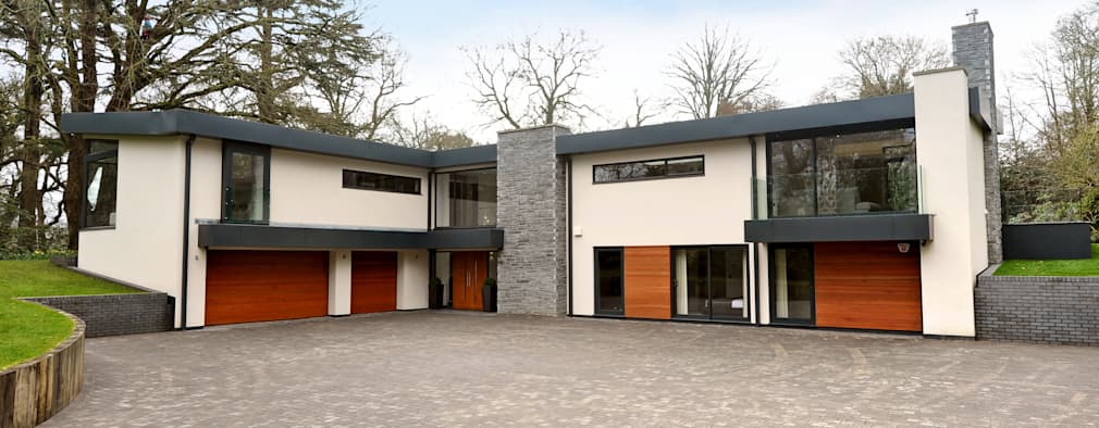 redwoods wimborne dorset modern houses by jigsaw interior architecture - The Redwood House Plans 1960s