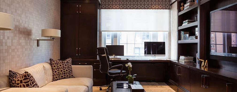 classic Study/office by Lichten Craig Architecture + Interiors