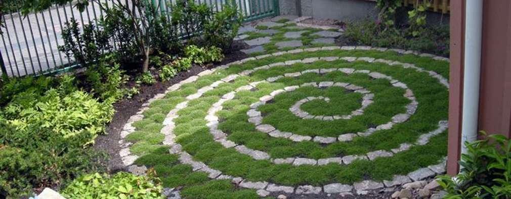 15 pequenos jardins com pedra que pode facilmente fazer em for Caracol de jardin de que se alimenta