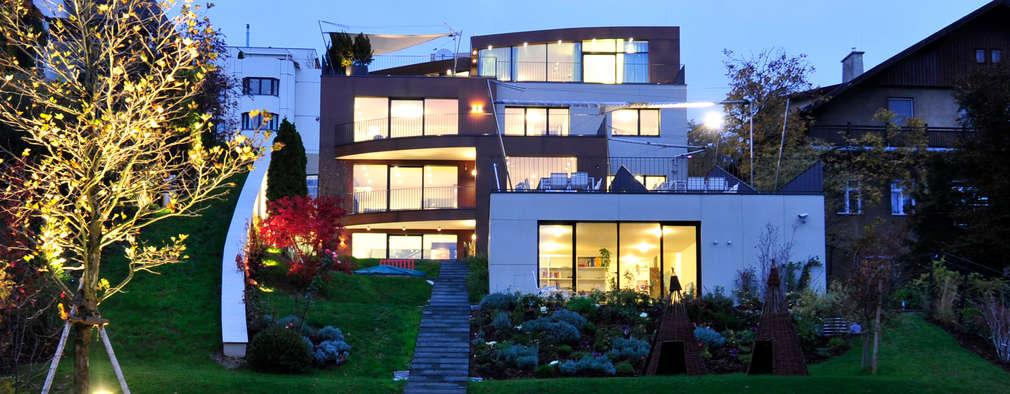moderne Huizen door zone architekten
