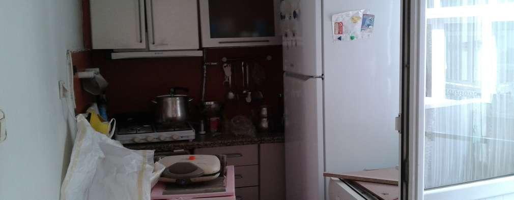 Reformar una cocina de espantosa a super moderna - Reformar una cocina ...
