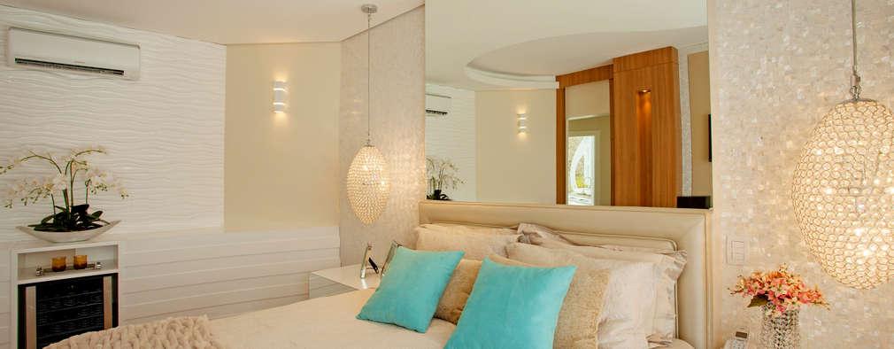 15 schitterende ideeën voor verlichting in de slaapkamer