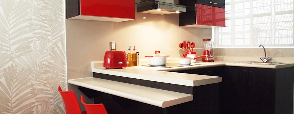 20 desain dapur modern sederhana dan menawan for Remodelacion de cocinas pequenas