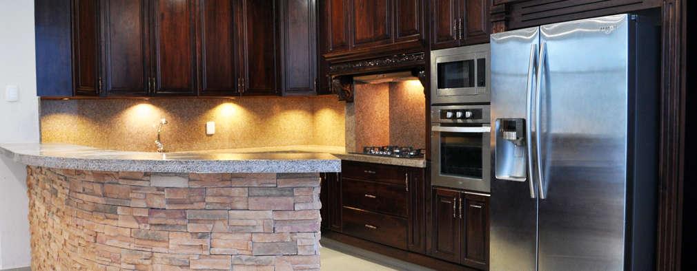 15 cocinas integrales de madera que te podrá hacer el carpintero ya