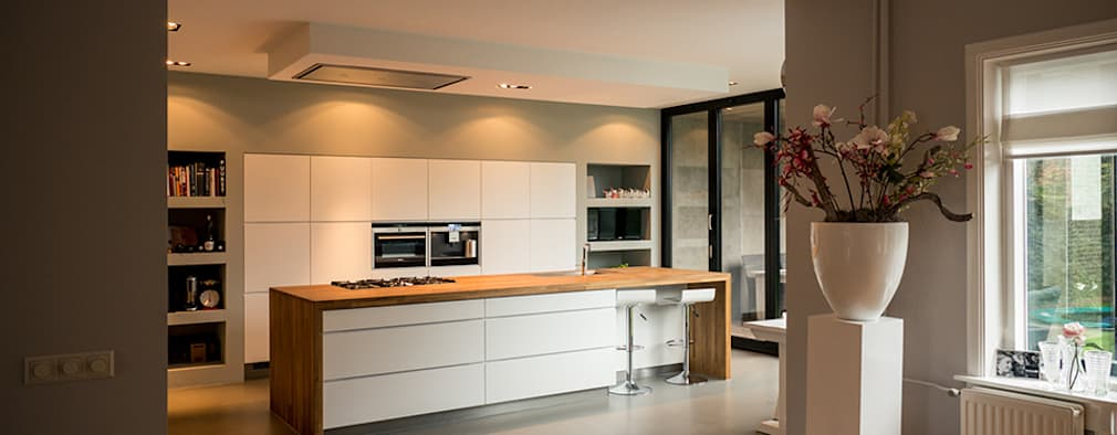 modern Kitchen by Joep van Os Architectenbureau