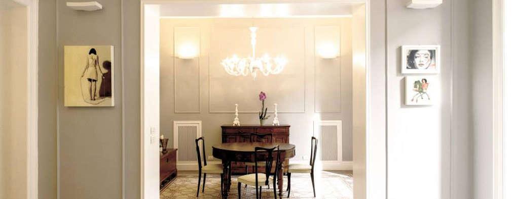 6 elementi necessari per una casa in stile classico moderno for Case arredate stile classico