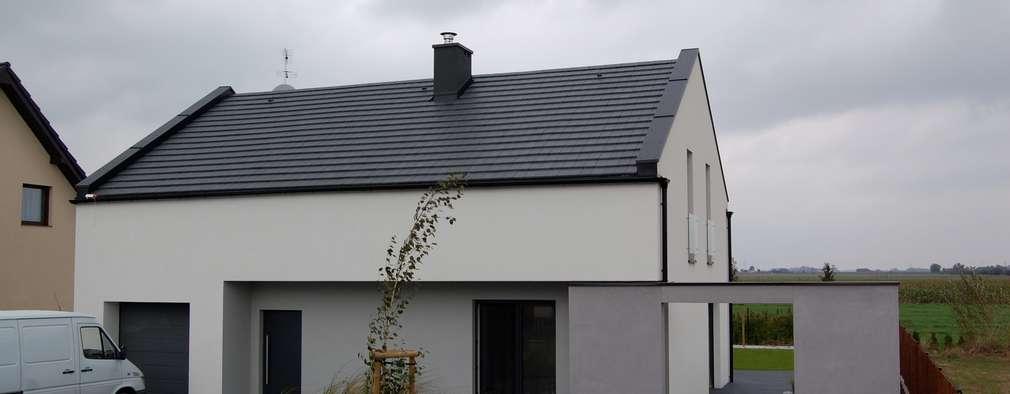 modern Houses by kabeDesign kasia białobłocka
