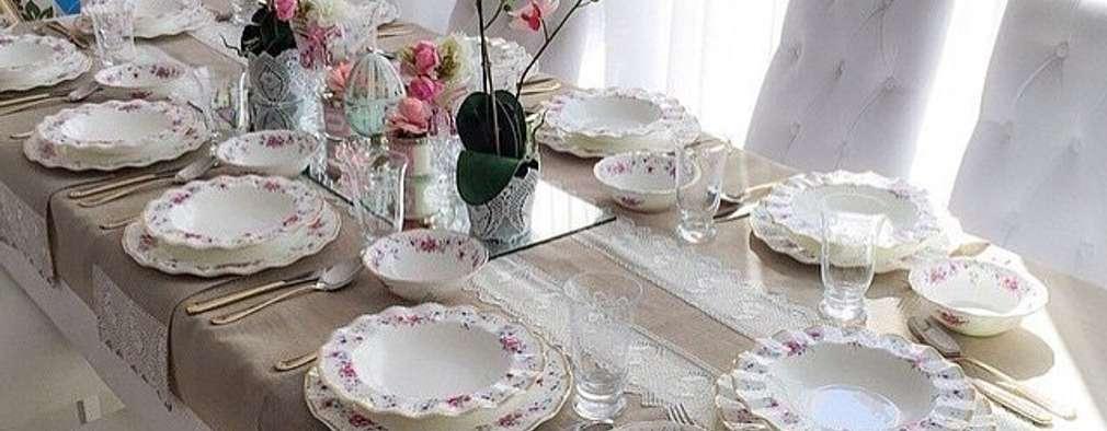 Dekorluk – dekorluk masa örtüleri:  tarz