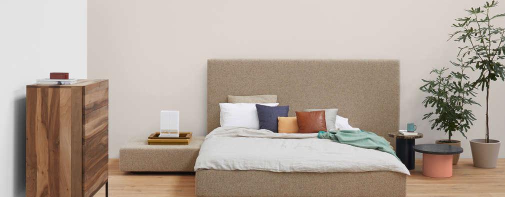 Bett PARDIS: Moderne Schlafzimmer Von E15
