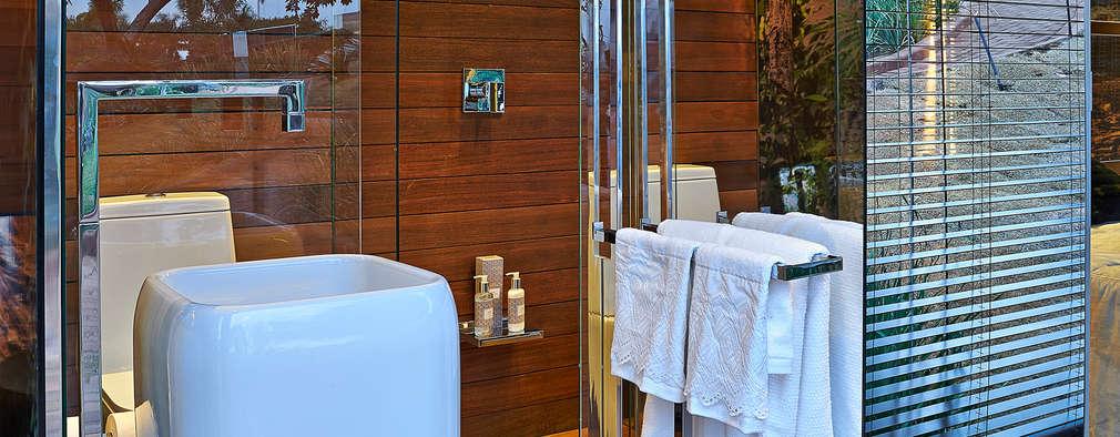 حمام تنفيذ Cristina Menezes Arquitetura