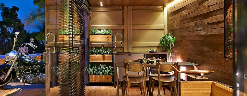 Phòng khách by Cristina Menezes Arquitetura