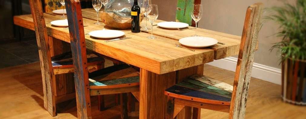8 comedores r sticos que todo chileno sue a con tener for Comedores rusticos modernos