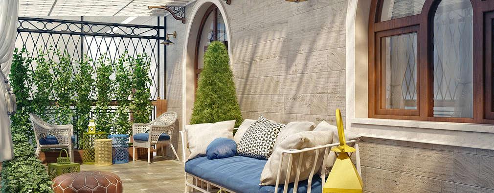 11 porches et terrasses pour avoir une maison parfaite for Piani di veranda coperta
