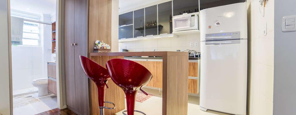 Cocinas de estilo moderno por Liana Salvadori Arquitetura e Interiores