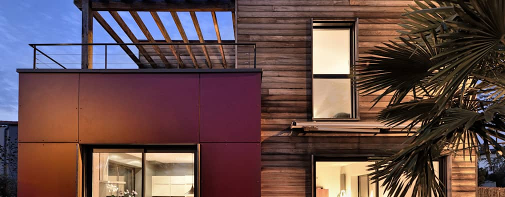 modern Houses by HELENE LAMBOLEY ARCHITECTE DPLG