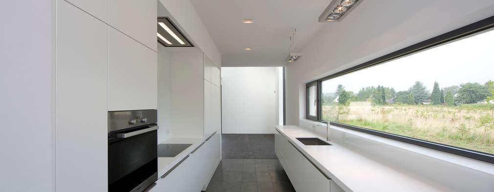 19 ideen f r schmale k chen. Black Bedroom Furniture Sets. Home Design Ideas