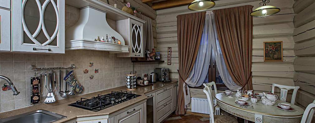 rustic Kitchen by Николай Карачев