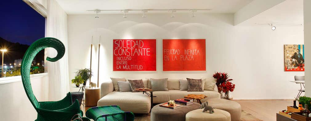 Livings de estilo clásico por Studio ro+ca