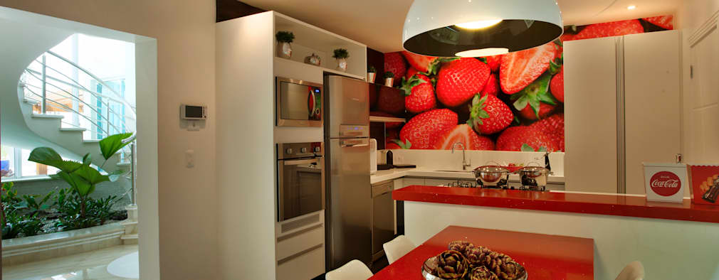 Cuisine de style de style Moderne par Designer de Interiores e Paisagista Iara Kílaris