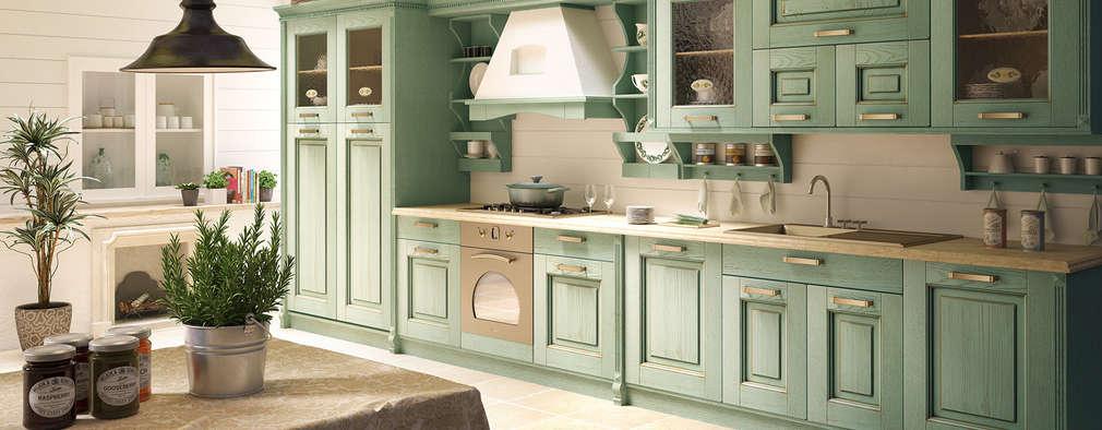 motik: klasik tarz tarz Mutfak