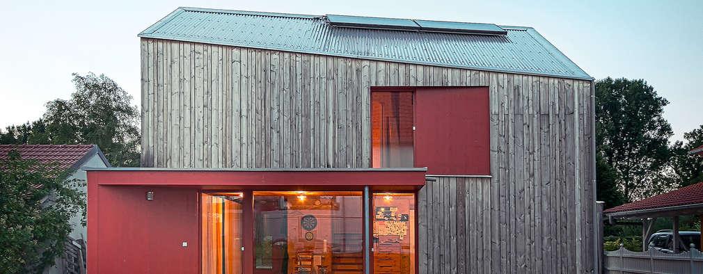 scandinavian Houses by ArchitekturWerkstatt Vallentin GmbH