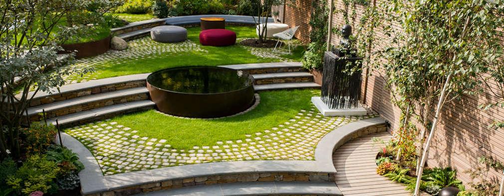 Projekty,  Ogród zaprojektowane przez Bartholomew Landscaping