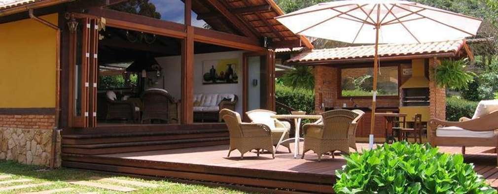 8 fabulosas terrazas especiales para una casa de campo for Casas con terraza al frente