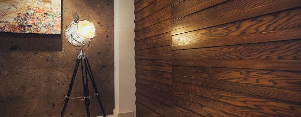 10 fantastiche idee per rivestire le pareti con il legno - Rivestire parete con legno ...