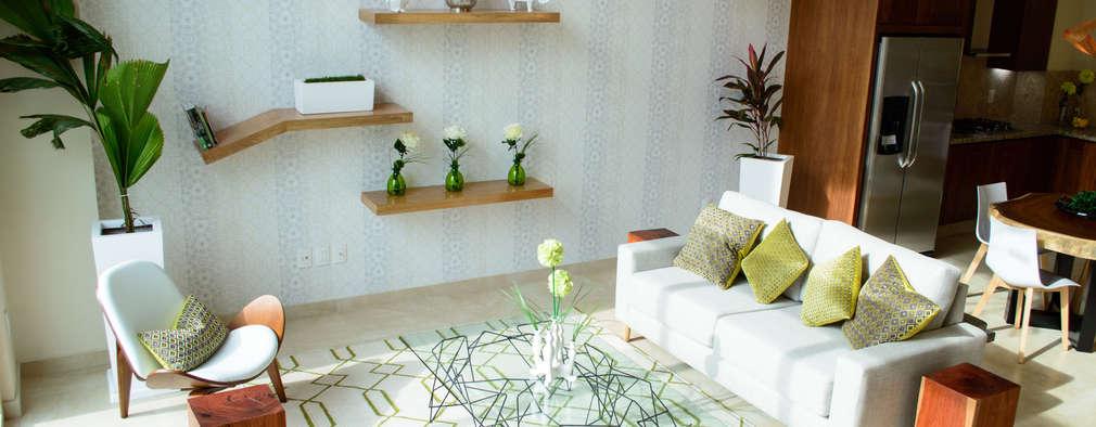 غرفة المعيشة تنفيذ DECO designers