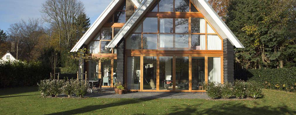 Maisons de style de style eclectique par Boks architectuur