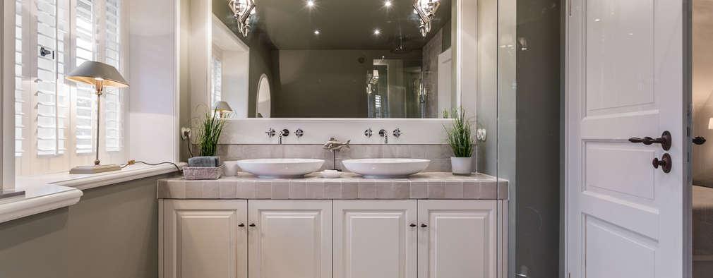 salle de bains de style par immofoto sylt