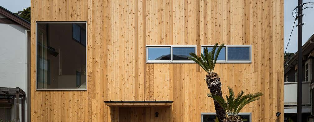eclectische Huizen door エンジョイワークス一級建築士事務所