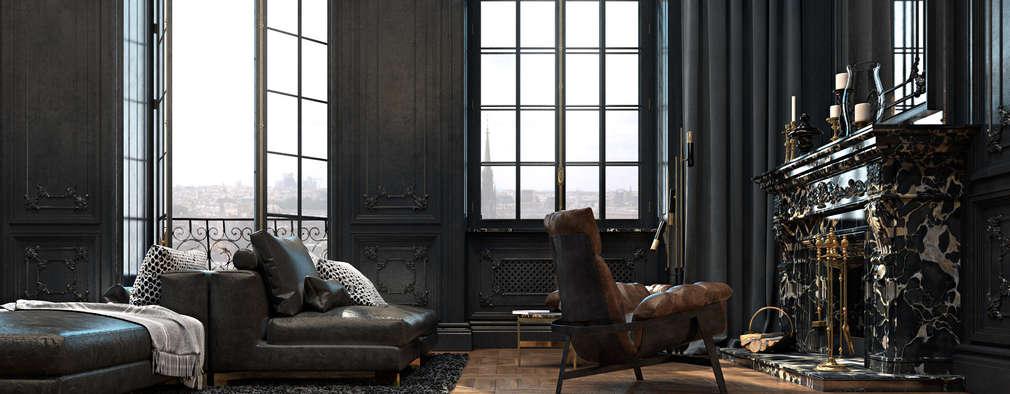 غرفة المعيشة تنفيذ Diff.Studio