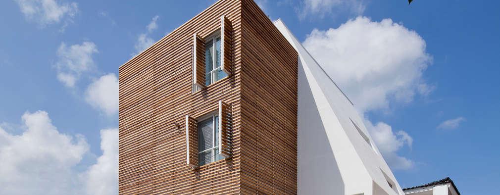 루버하우스: 스마트건축사사무소의  주택