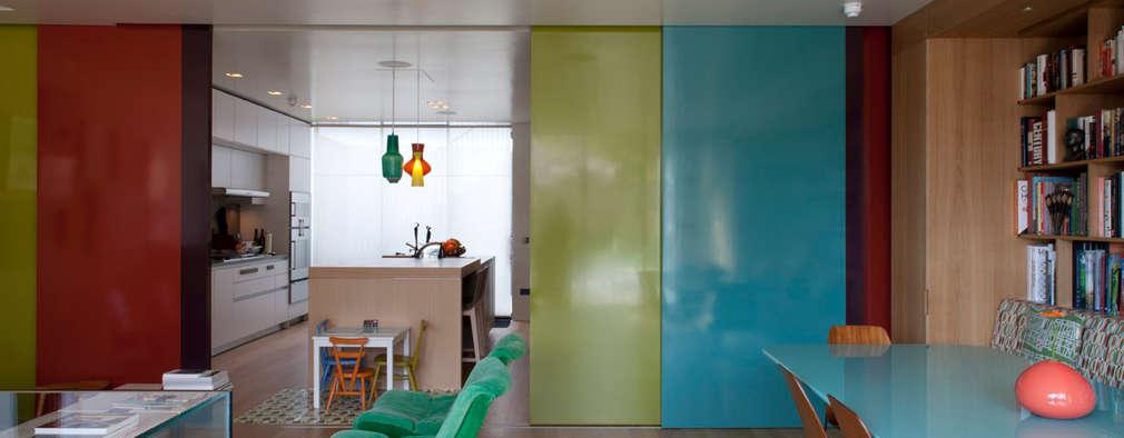 Projekty,  Drzwi przesuwne zaprojektowane przez Viewport Studio
