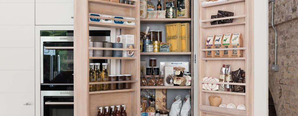Contemporary design redefined: modern Kitchen by Neptune