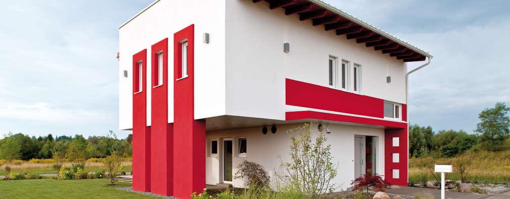 Maisons de style de style Moderne par ELK Fertighaus GmbH
