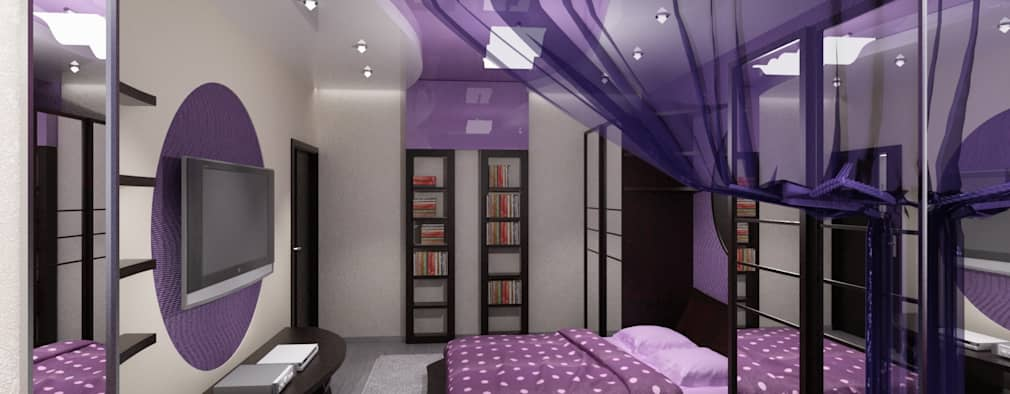 modern Bedroom by Vera Rybchenko