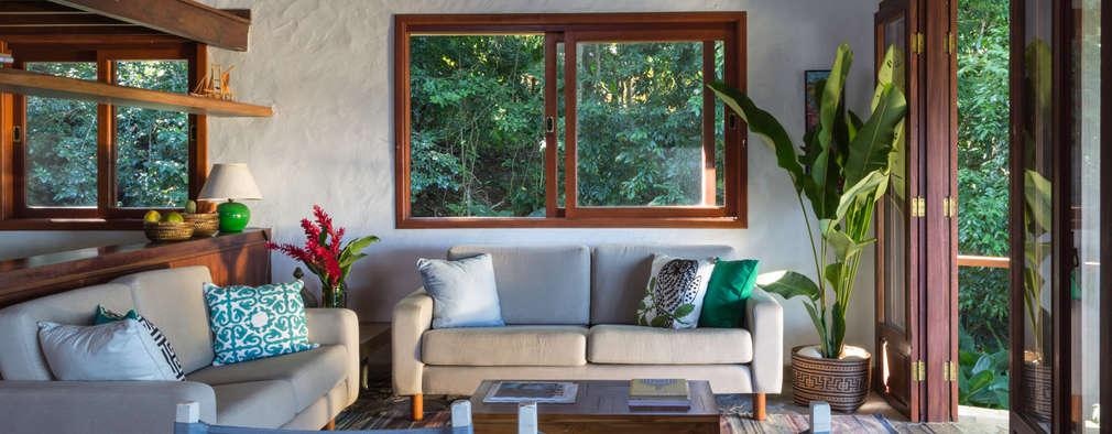 غرفة المعيشة تنفيذ Lucia Manzano