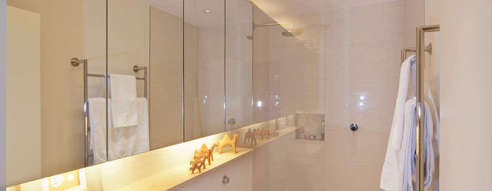 scandinavian Bathroom by Gullaksen Architects