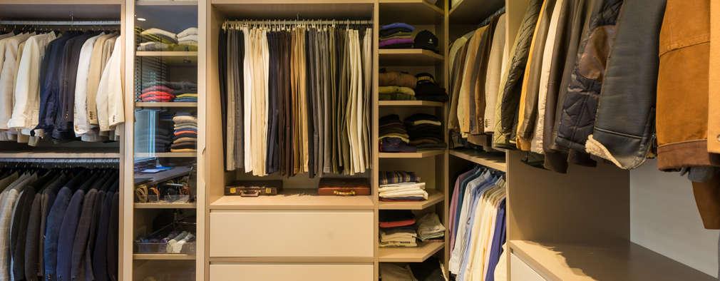 Projekty,  Garderoba zaprojektowane przez LF24 Arquitectura Interiorismo