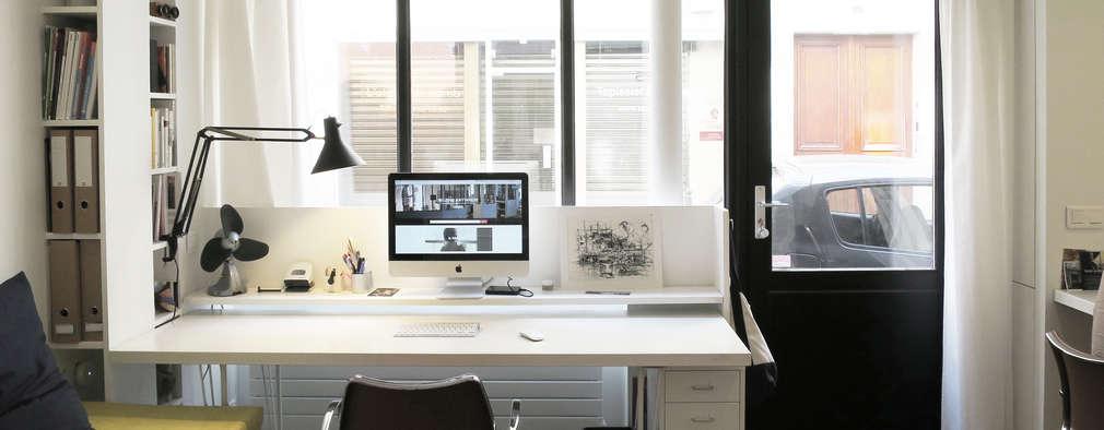Рабочие кабинеты в . Автор – Studio Pan
