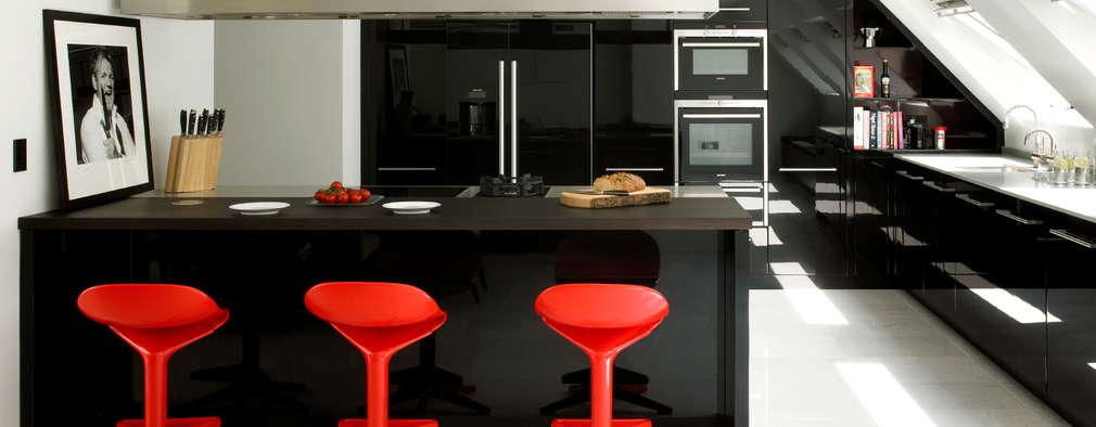 Cuisine de style de style Moderne par Holloways of Ludlow Bespoke Kitchens & Cabinetry