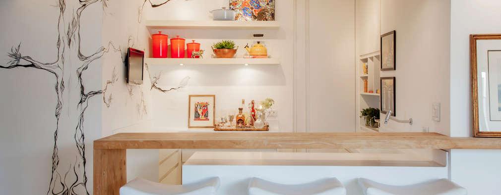 8 Ideas con madera para el tope de tu cocina